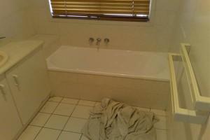 Bathroom resurfacing - before