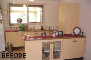 Kitchen makeover - before