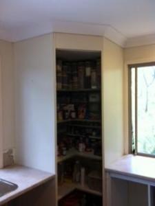 Kitchen Resurfacing - before