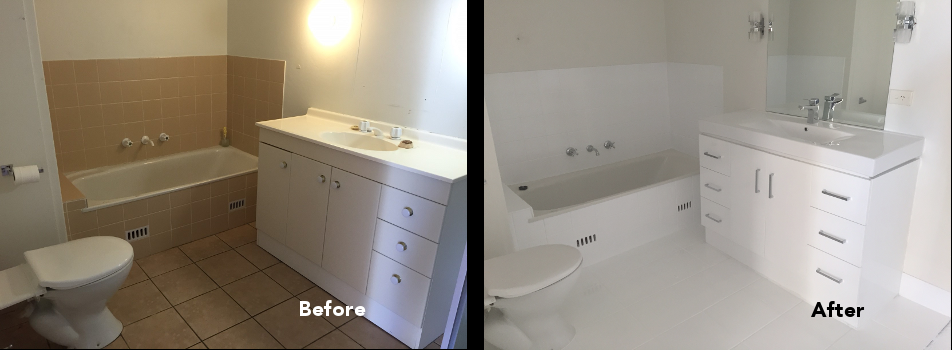 Bathroom Renovations Gold Coast Made Easy Bathroom Resurfacing Renew Kitch
