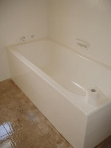 Gold Coast Bathroom Renovations - after resurfacing