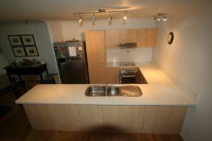 Kitchen benchtops Gold Coast - after resurfacing
