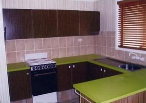 Kitchen renovations Gold Coast - before resurfacing