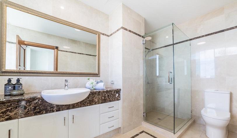 refinishing bathroom cabinets